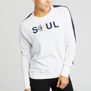 NWT M Light Sweatshirt Soulcycle x Sundry & tote